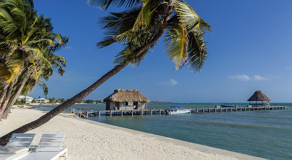 Strand in Belize