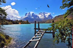 See am Torres del Paine